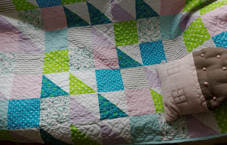 baby pastel quilt