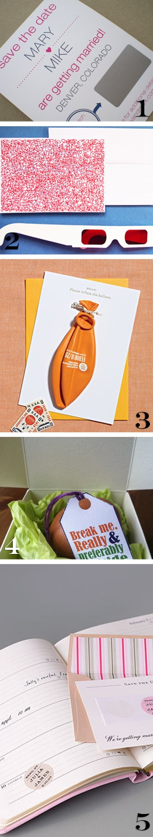 five unique save the date ideas how to diy wedding invitation stationery etc.