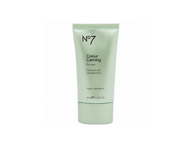 The BEST Primers at a Drugstore @byrdiebeauty- Color-Correcting    Soothe skin and calm redness with Boots No7's Colour Calming Primer ($10 at Target). The green tint counteracts redness in your complexion to let your skin's natural beauty shine through.