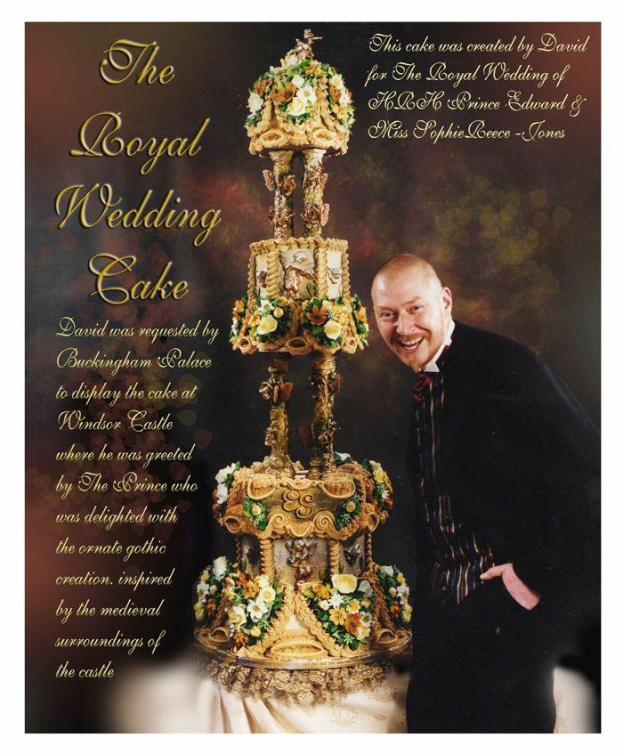 Royal Weddings wedding Cake 1986 1999 HRH Prince Edward Miss Sophie Reece Jones