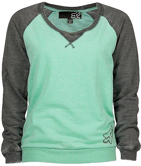 Tiffany and grey fox riders sweatshirt