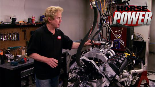 Building a recycled big Hemi engine on a small budget.