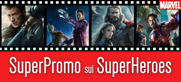Marvel: SuperPromo per SuperHeroes | Dvd.it