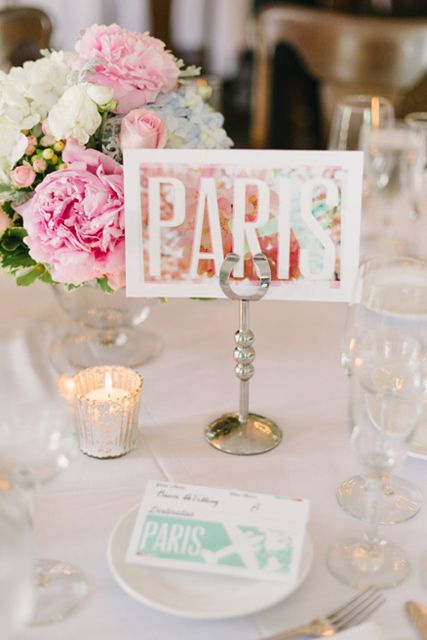 8 best Unique Wedding Table Number Ideas images on Pinterest