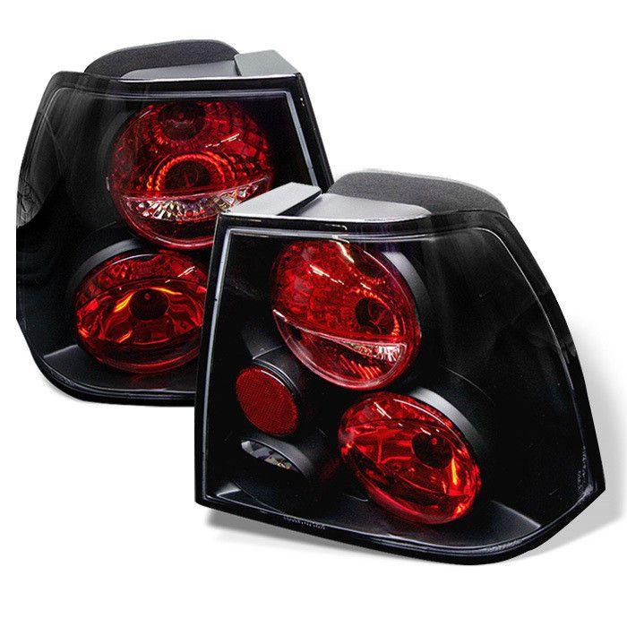 ( Spyder ) Volkswagen Jetta 99-04 Euro Style Tail Lights - Black