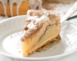 Gâteau light à la crème café comme un gâteau au yaourt