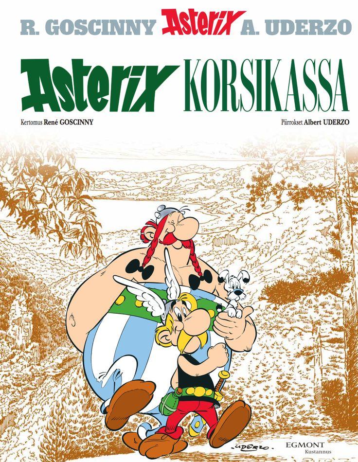 Asterix Korsikassa nyt kirjakaupoissa. Kovat kannet ja timantikova sisältö. #sarjisparhaus #Asterix #matkailu #huumori
