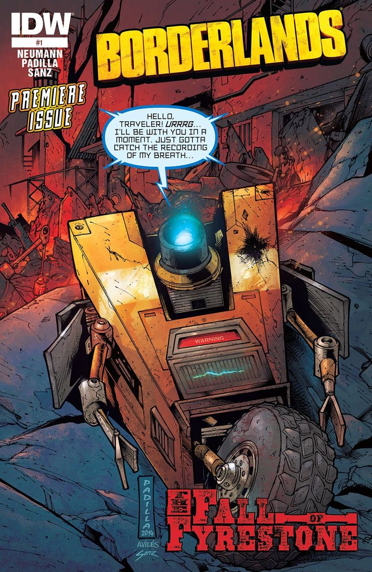Borderlands – The Fall of Fyrestone | Viewcomic reading comics online for free