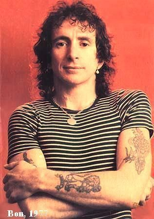 Bon Scott, Scottish born, Australian rock musician, best know for being the lead singer and lyricist of AC/DC was born today 7-9 in 1946. He passed in 1980