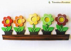 Virágláda napos tábla kép