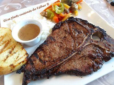 Les plats cuisinés de Esther B: La meilleure marinade pour steaks de l'histoire de l'humanité