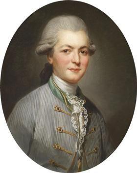 Portrait dd Charles Joseph de Pallu, par Joseph Ducreux