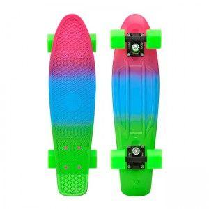 "Penny Skateboards USA Rasta Fade 22"" Skateboard   Penny Skateboards"