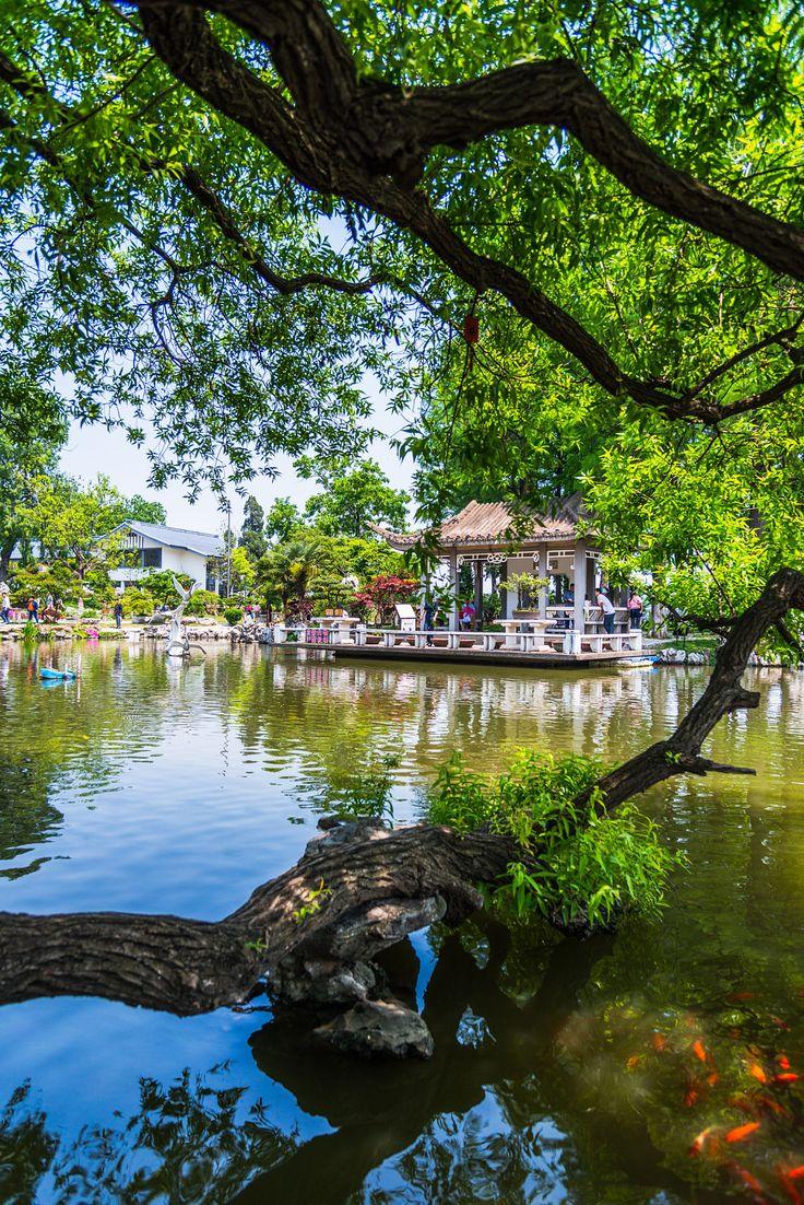 A really nice spot at the Xuanwu lake at Nanjing.