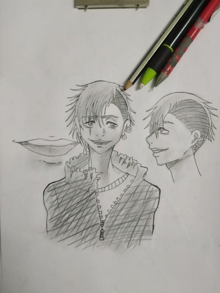 Ruqia Art Art Drawings Male Sketch
