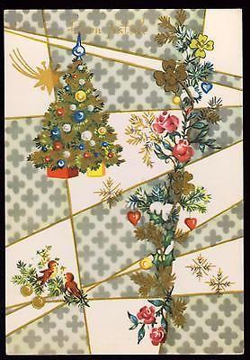 Pmce Cartolina Buon Natale Fg N Serie 968/2 - Albero Uccellini Stella Cometa