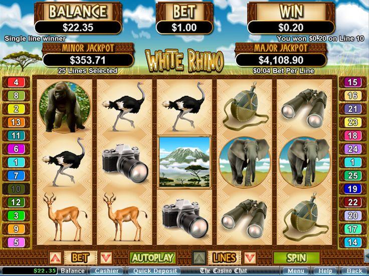 White Rhino Online Slot Review Online casino games