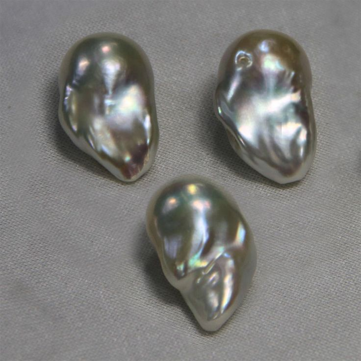 Large Baroque Fireball Pearls These Are Purty Baroque