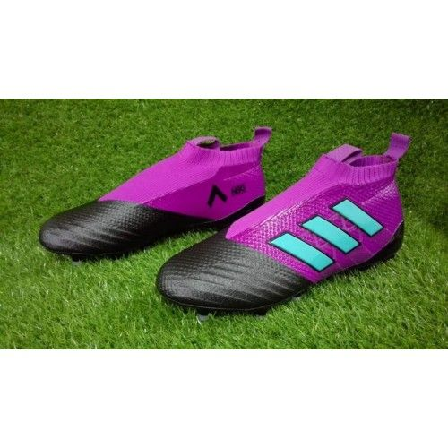 Adidas ACE Fotbollsskor - Bast Adidas ACE 17 PureControl FG Lila Svart Bla Fotbollskor