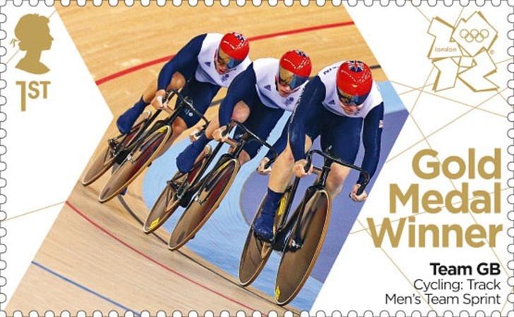 Chris Hoy, Philip Hindes & Jason Kenny Cycling (Track) Men's Team Sprint