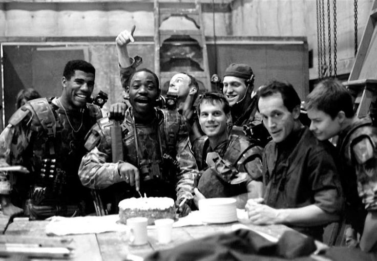 Sergeant Al Apone Birthday Aliens 1986
