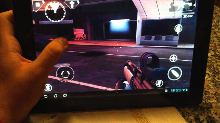 Gameplay Modern Combat 4: Zero Hour on ASUS TF300T TEGRA 3. (+playlist)