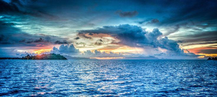 Bora Bora sunset 🌅