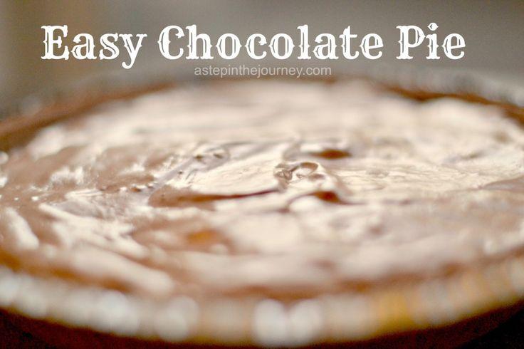 Jello Chocolate Pie Recipe