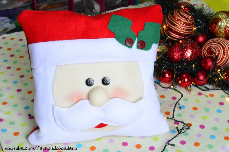 DIY Almofada de Natal