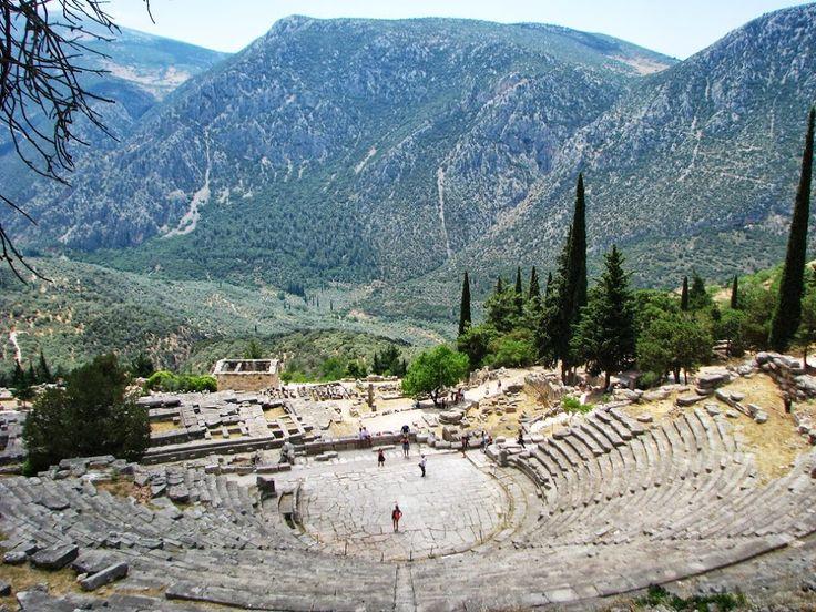 Elena Papa - Google+ - elena papa - delfoi Greece good evening