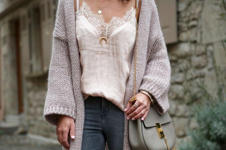 outfit-chloe-drew-bag-hallhuber-cardigan