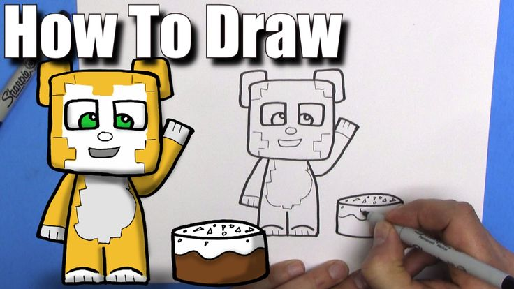 31 best learn to draw for kids images on pinterest art lessons how to draw stampy longhead easy chibi step by step kawaii altavistaventures Images