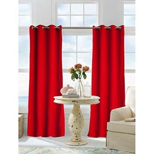 84 Inch Maroon Color Gazebo Curtain Single Panel Dark Red Solid Color Pattern Rugby Colors Outside Outdoor Pergola Drapes Porch Deck Cabana Patio