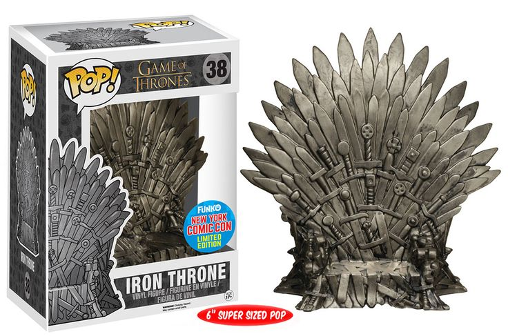 Figurine pop Trône de Fer (Iron Throne) - Game of Thrones - Funko Pop! Vinyl
