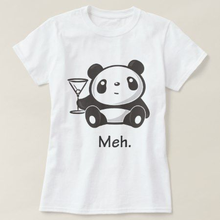 Meh Panda T-Shirt - click to get yours right now!