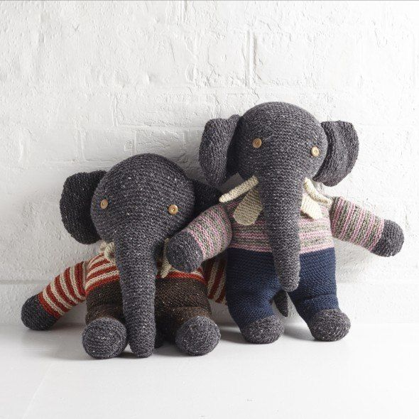 Lighthouse Knitwear elephants