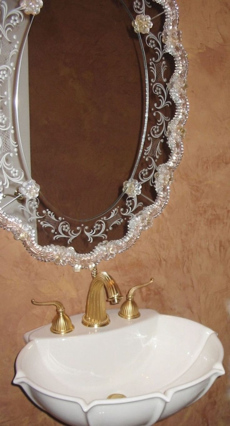 201 best Venetian Mirrors images on Pinterest