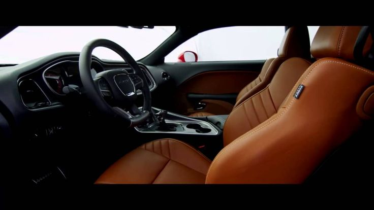 Interior: 2015 Dodge Challenger SRT with Hellcat Engine >> (Official Video from Chrysler Group LLC YouTube)
