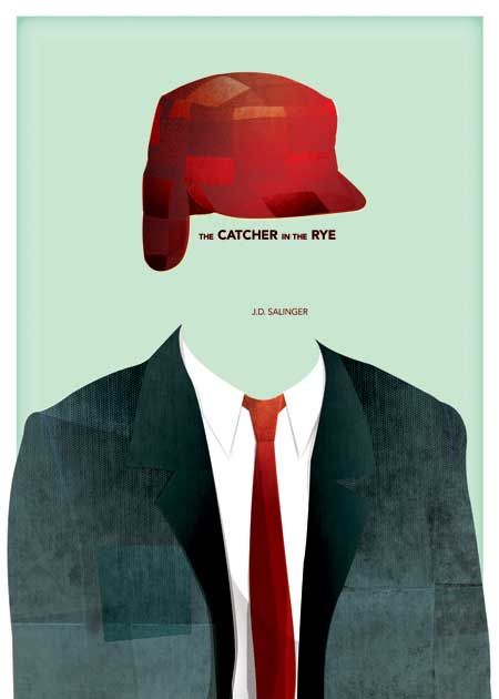 The Catcher in the Rye by Jonathan Mead (New Zealand)    More posters  info on http://doedemee.be/showcase/  buy this poster on http://www.wallcandy.be/index.php?
