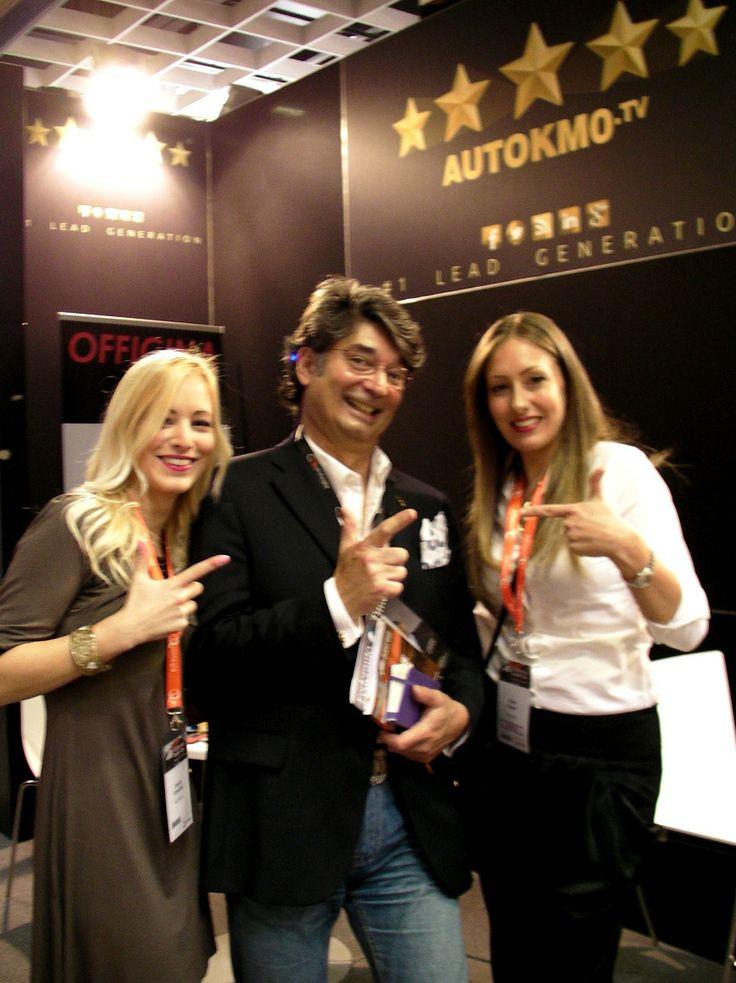 #MaurizioSala allo stand Autokm0.tv @Quintegia #ADD14