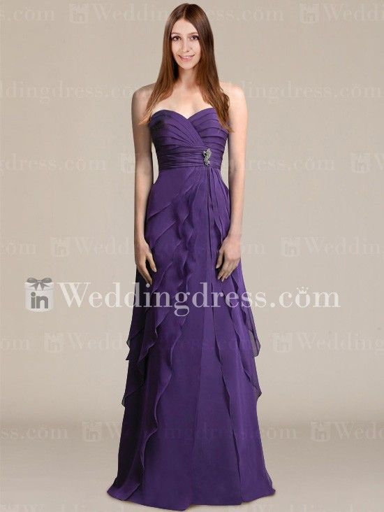 Modern Bridesmaid Dresses_Eggplant