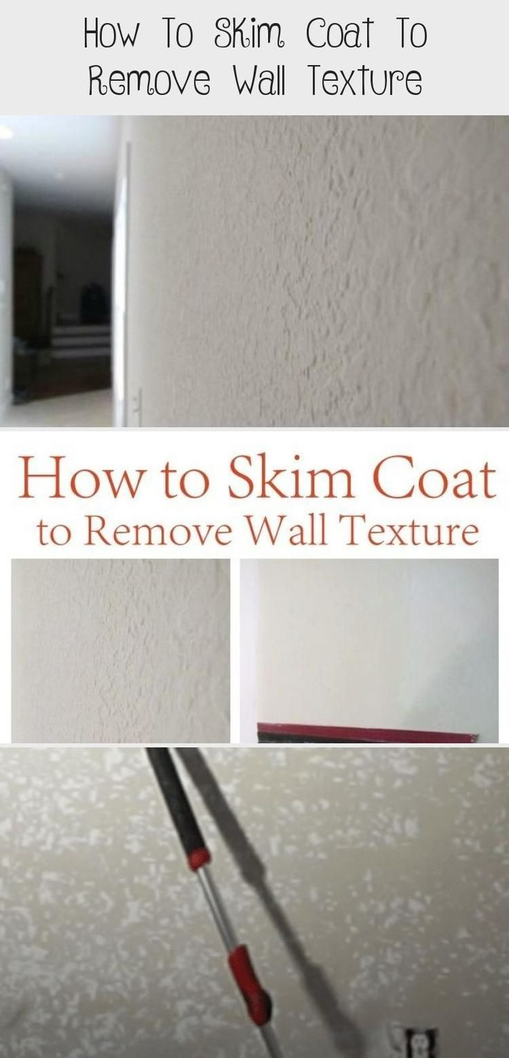 How to skim coat to remove wall texture pinokyo how to