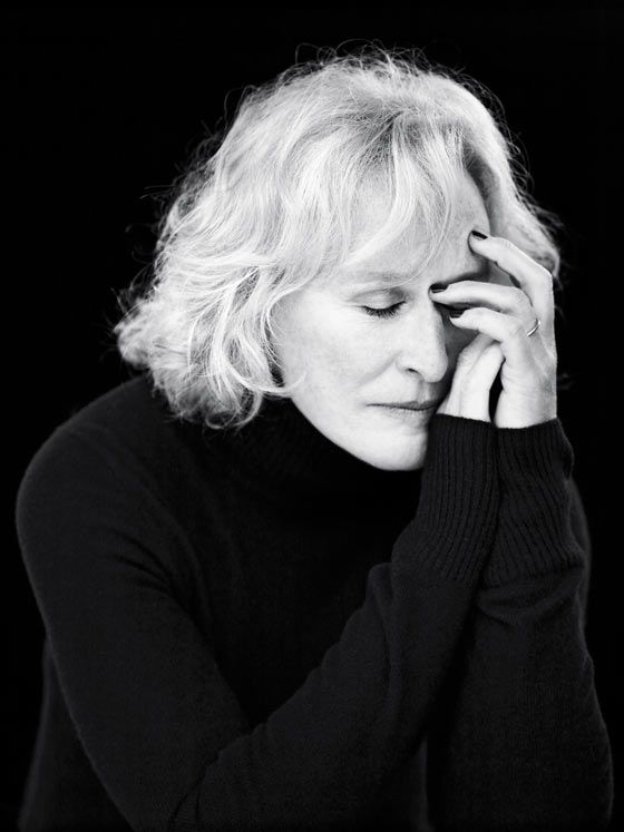 Glenn Close (b.1947) American film / television and stage actress.