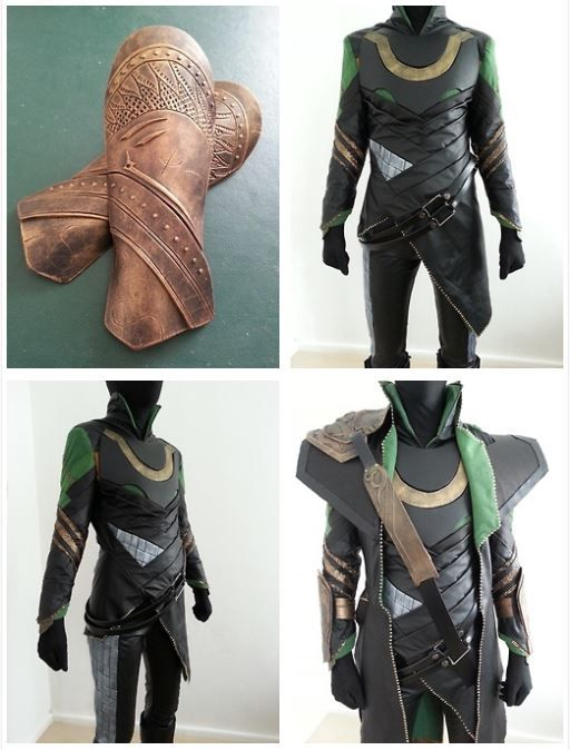 Loki costume tutorial <----This would have been nice like 5 months ago when I made my Loki Costume!