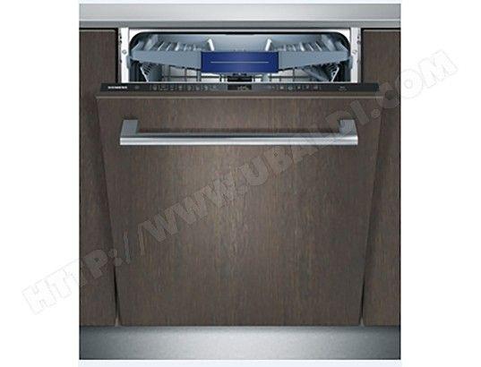 Lave vaisselle tout integrable 60 cm SIEMENS SN658X00ME