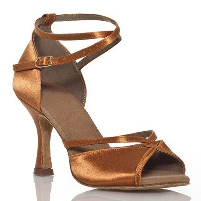 Women Classic Tango Ballroom Latin Salsa Dance Heels Shoes High heelsUS 5-8