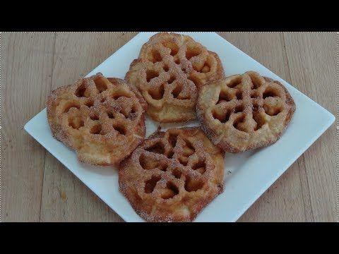 Rosas o flores fritas típicas de Semana Santa. Defácil elaboración y muy ricas.