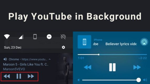 How To Play Youtube In The Background On Android And Iphone Youtube Iphone Background