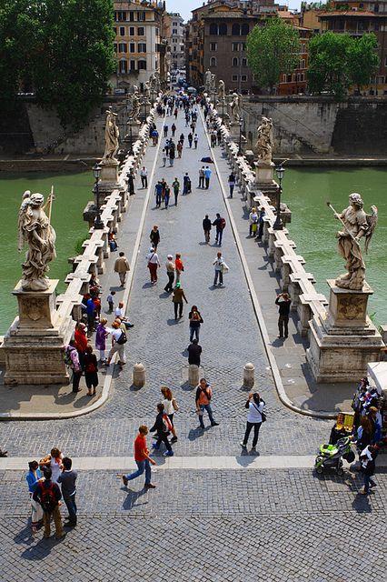 Ponte Sant'Angelo - Rome, Italy