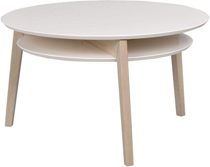 Köp - 2895 kr! Eleanor soffbord - Vit/Whitewash ek. Eleanor soffbord med snygg underhylla för förvaring. Finns i vit